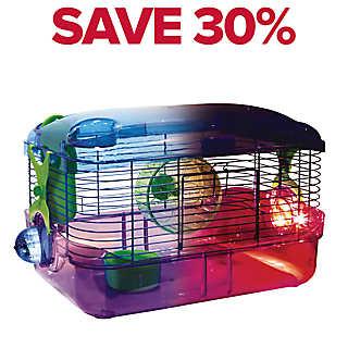 KAYTEE® CritterTrail® LED Lighted Habitat