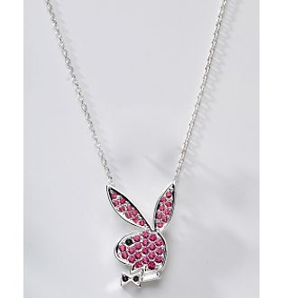 Pave Collection Necklace :  necklace playboy bunny necklace playboy bunny