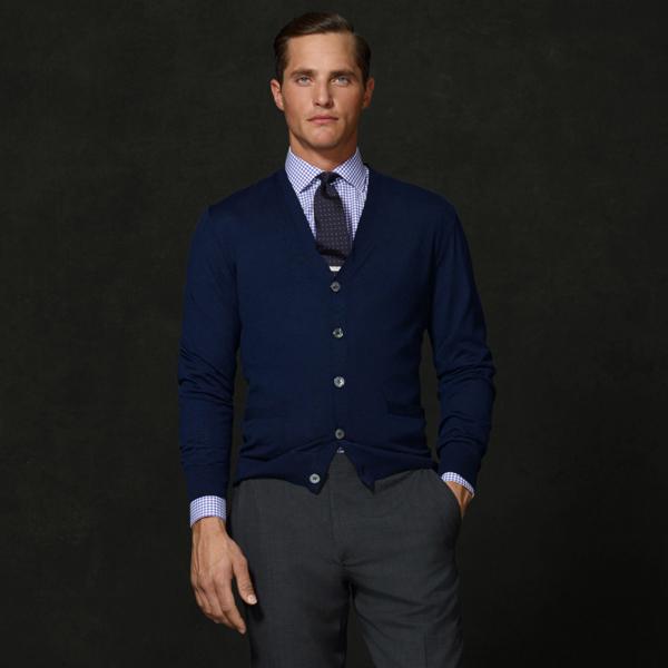 Sale alerts for Purple Label Cashmere Jersey Cardigan - Covvet