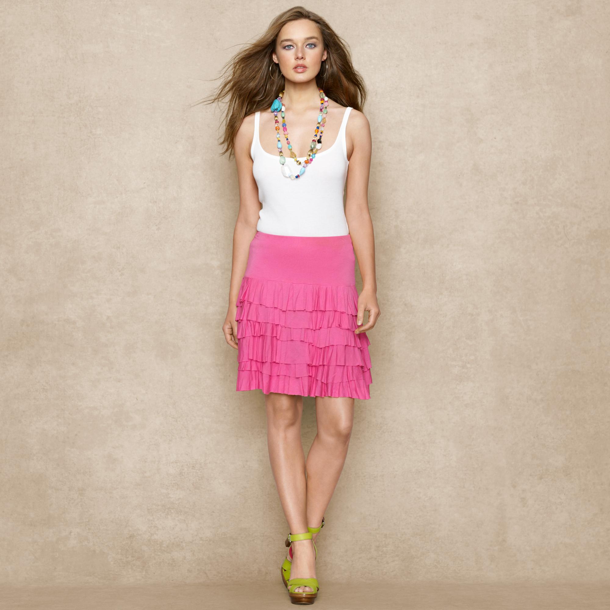 image of ralph lauren top and skirt