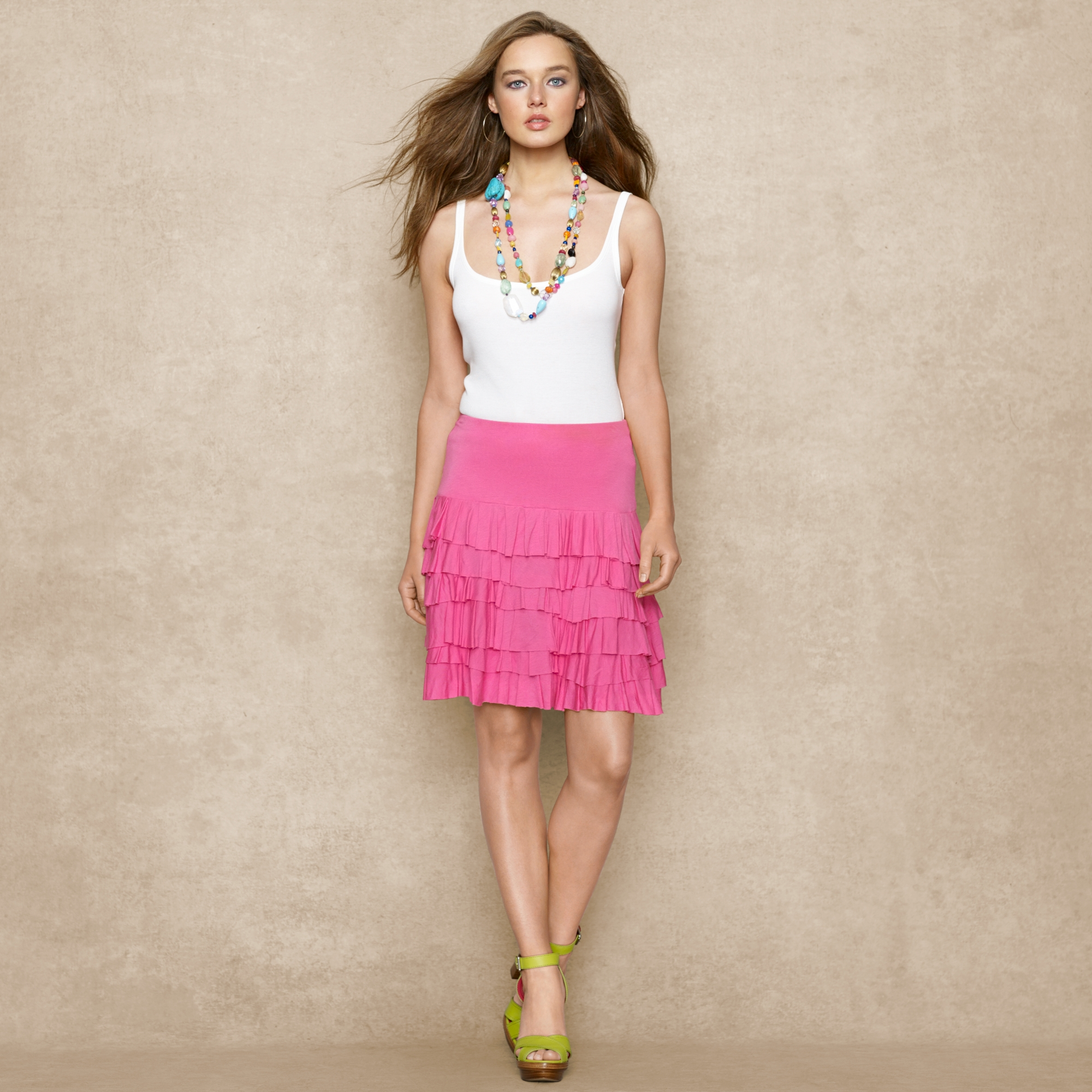 image of ralph lauren top and skirt