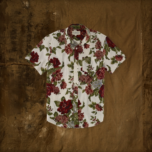 Sale alerts for Denim & Supply  Short Sleeve Button Down Shirt - Covvet