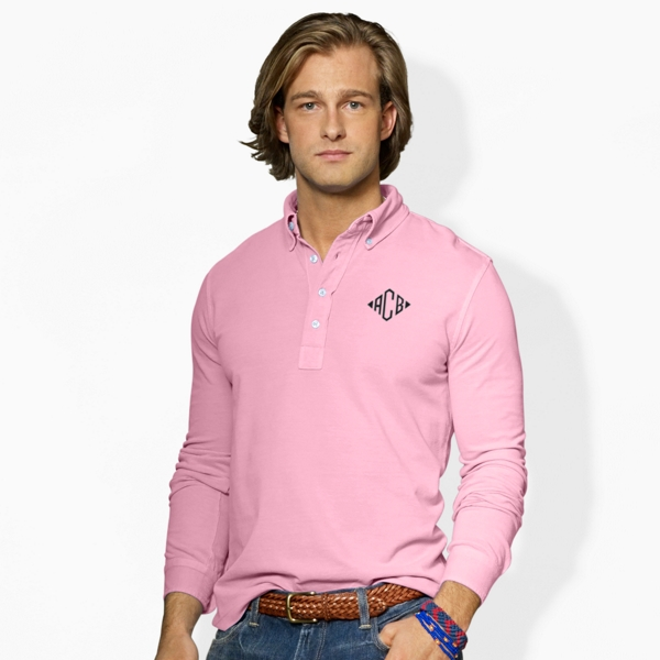 Featherweight Mesh Popover - Classic Fit Polo Shirts - RalphLauren.com