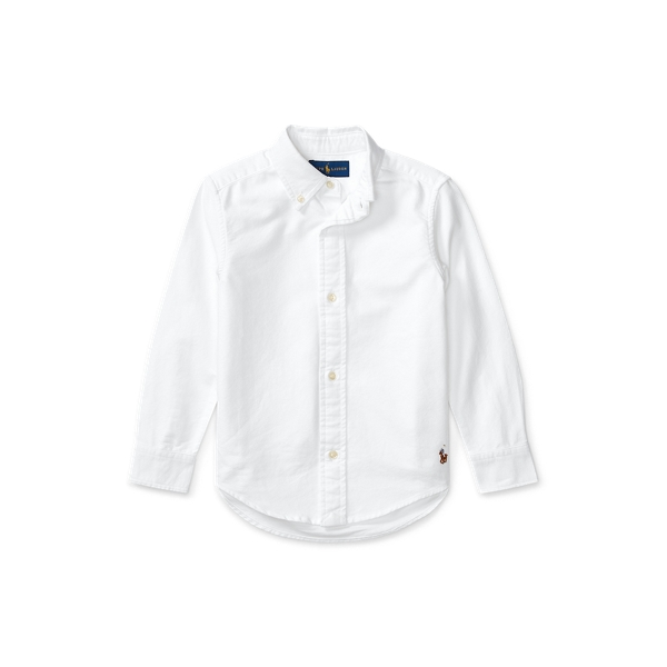 Blake Cotton Uniform Shirt - Long Sleeve Casual Shirts ...