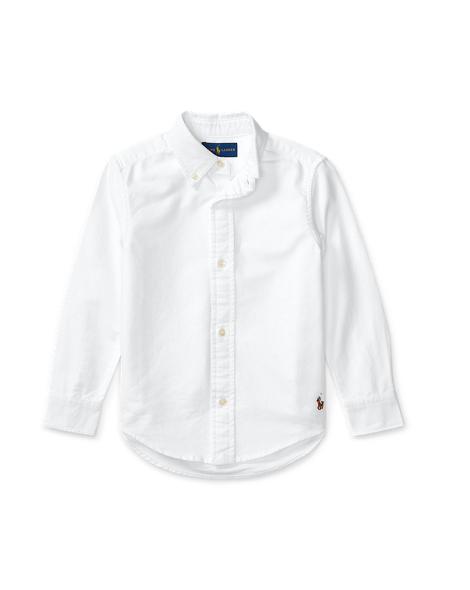 Blake Cotton Uniform Shirt - Long Sleeve Casual Shirts ...