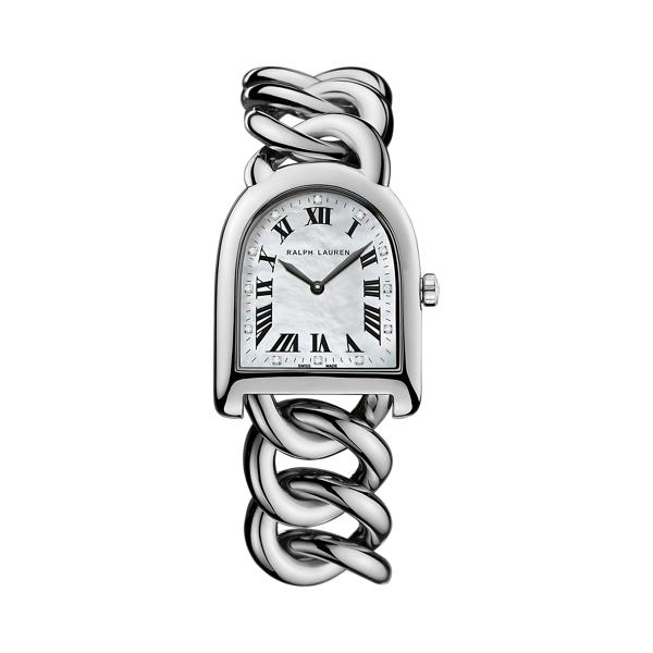 Small Link Steel Watch