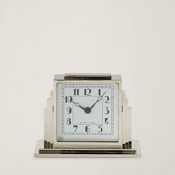 art deco athena clock - frames & desk accessories home