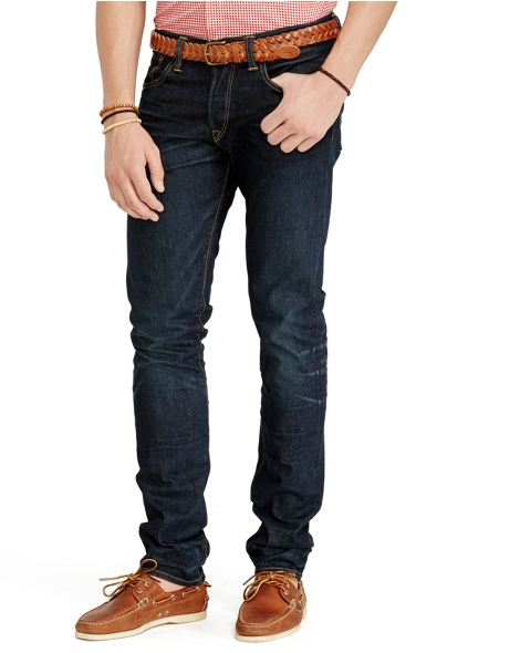 Polo Ralph Lauren Men's Sullivan Slim-Fit Jeans (Dark Indigo)