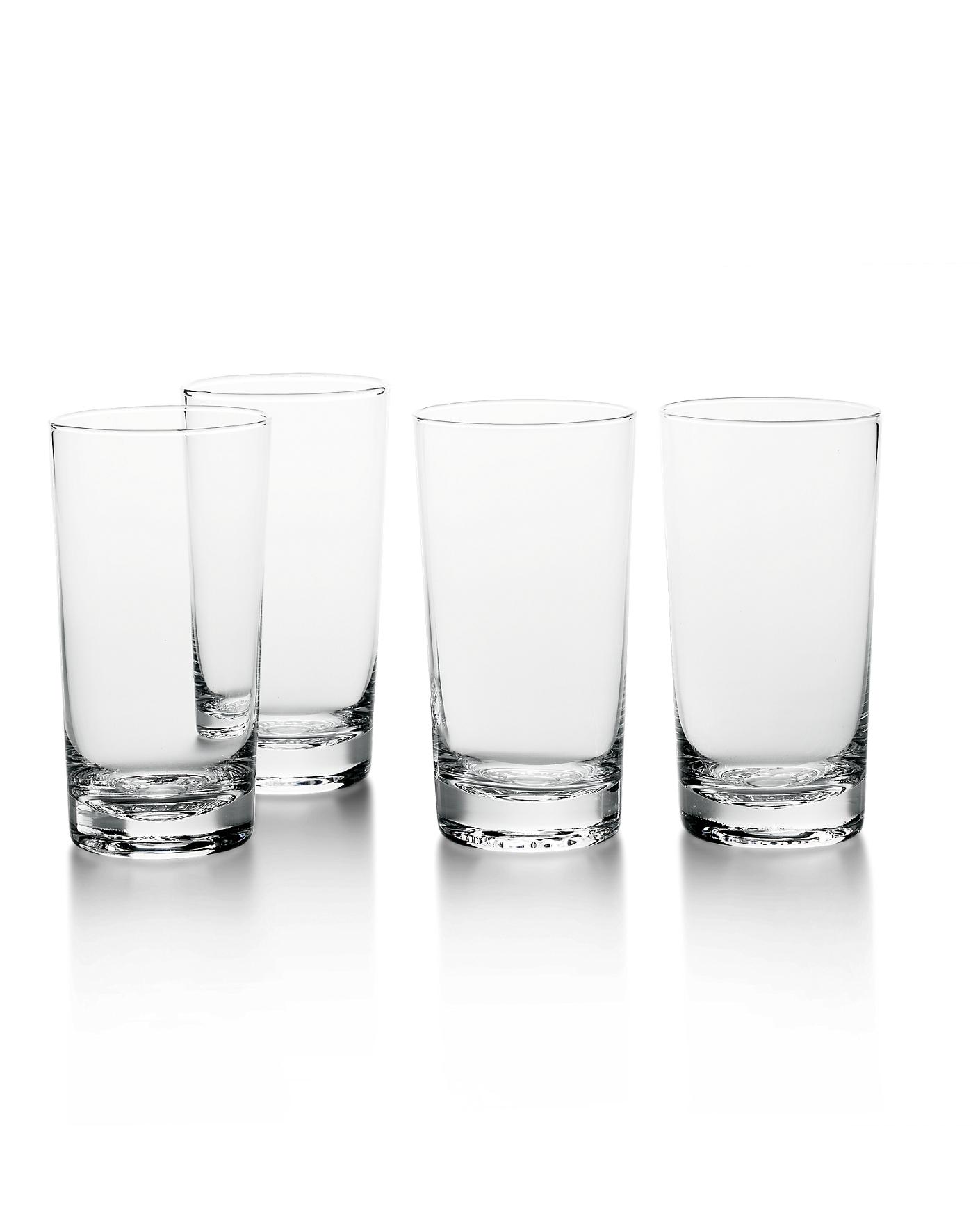 glassware cocktail glasses  glassware sets  ralph lauren - rl ' iced tea glass set  ralph lauren home drinking glasses
