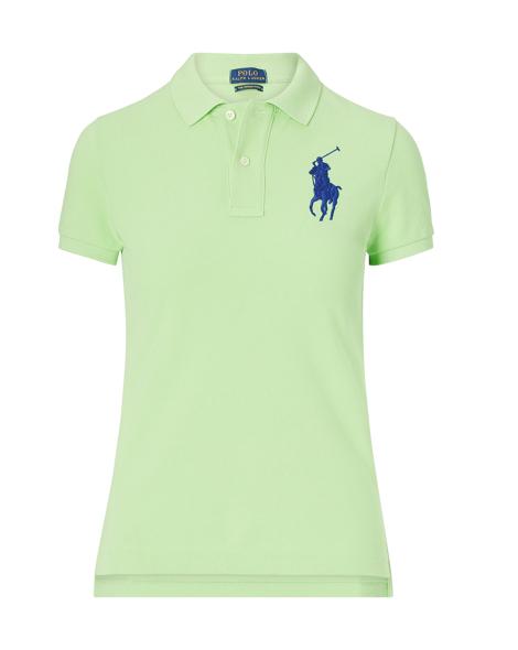 Skinny Fit Big Pony Polo Shirt - Polo Shirts Women - RalphLauren.com