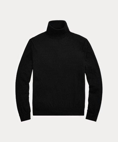 カシミヤ タートルネック セーター