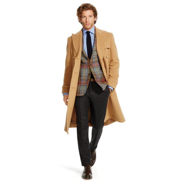 Camel Hair Polo Coat