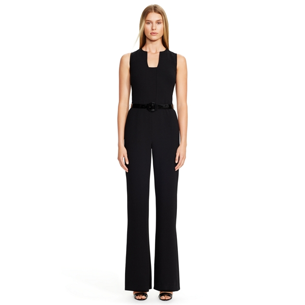 Isabella Stretch Wool Jumpsuit