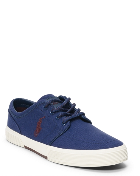 Polo Ralph Lauren Faxon Canvas Low Sneaker Mens Shoes (Multiple Colors)