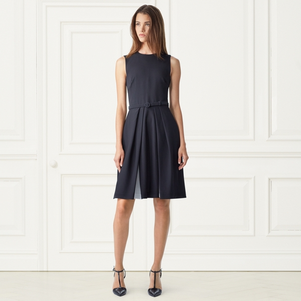 Cadence Dual-Tone Silk Dress