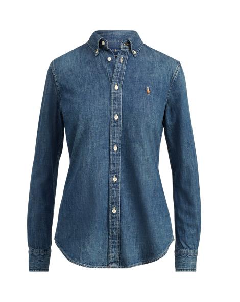 Custom-Fit Denim Shirt - Button Downs Shirts & Tops - RalphLauren.com