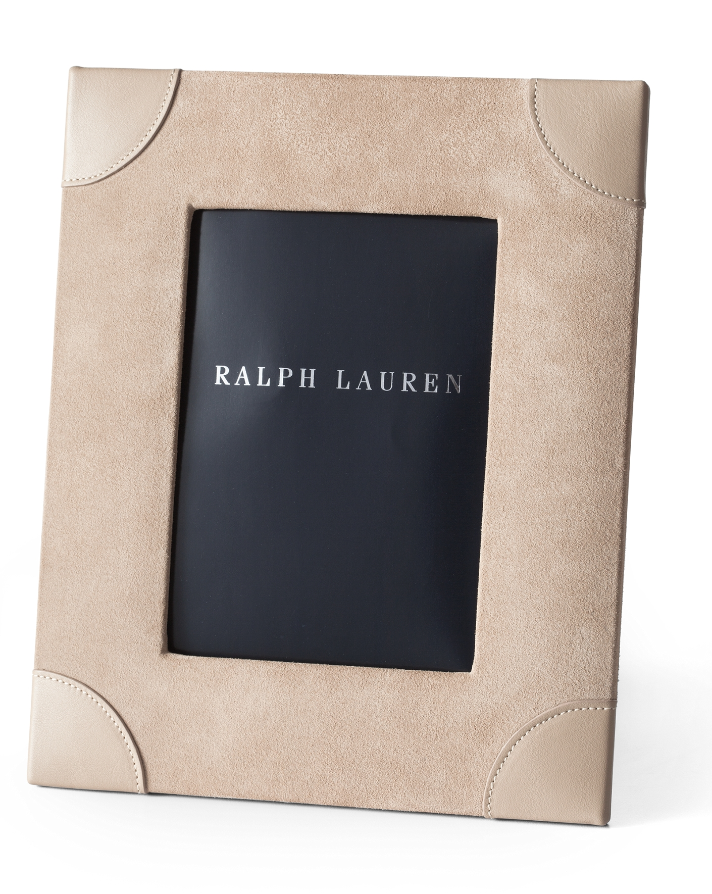 brooke suede leather frame ralph lauren home frames ralphlaurencom