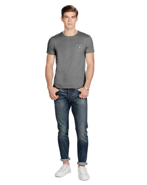 Cotton Jersey Pocket T-Shirt - Tees T-Shirts & Sweatshirts ...