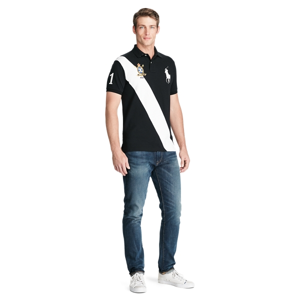 Slim Fit Mesh Polo Shirt - Custom Slim Polo Shirts - RalphLauren.com