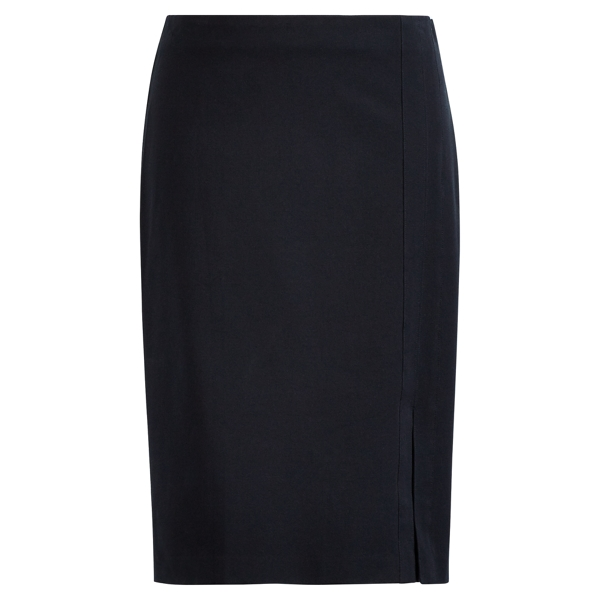 Side-Slit Pencil Skirt - Sale Skirts - RalphLauren.com