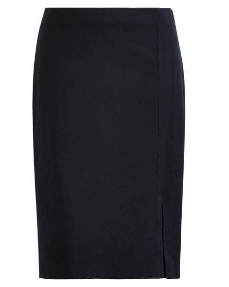 Side-Slit Pencil Skirt - Sale Skirts - RalphLauren.com