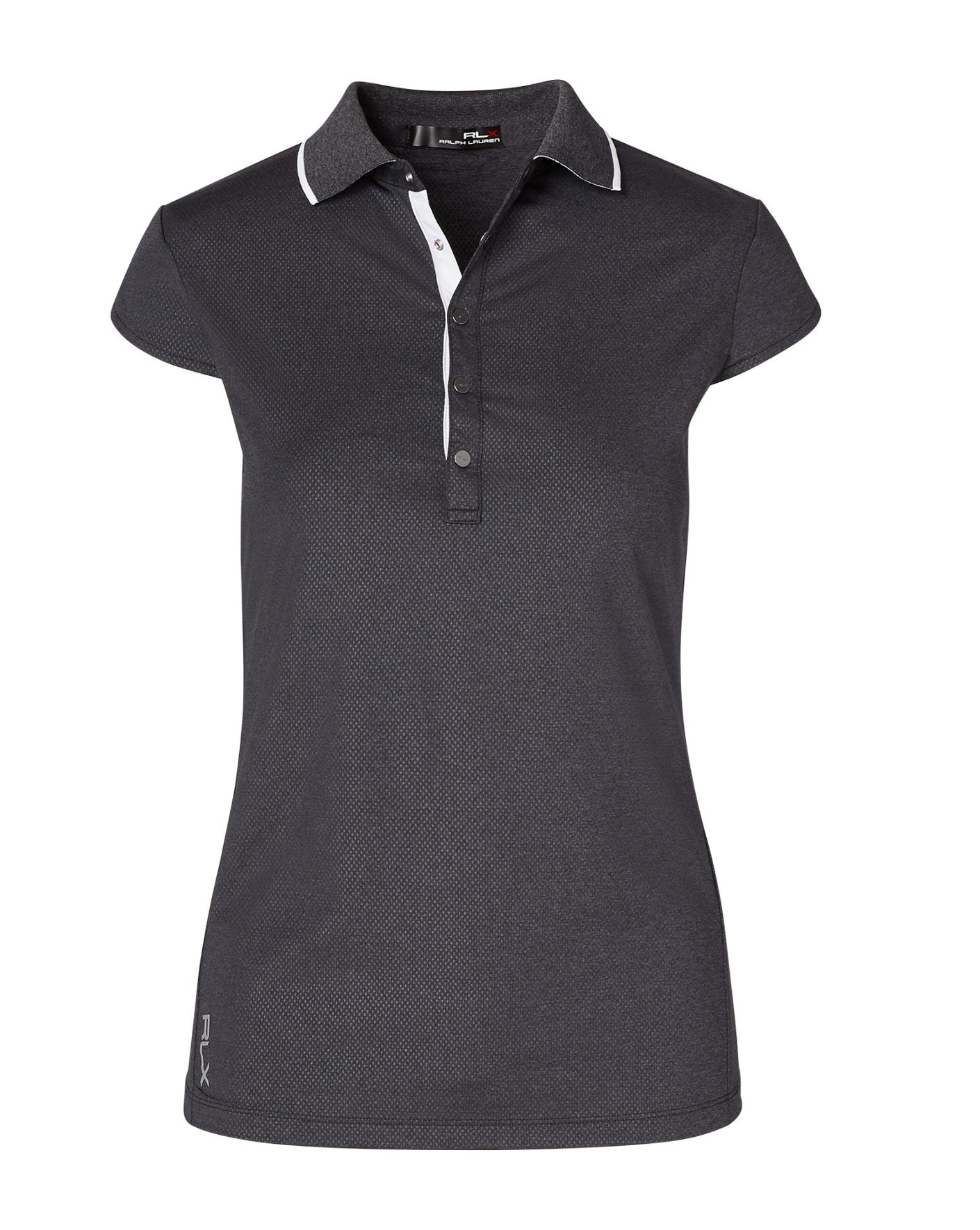 Diamond-Embossed Polo Shirt - Polo Shirts Women - RalphLauren.com