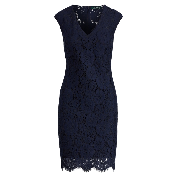 L b lace dress 0 petite