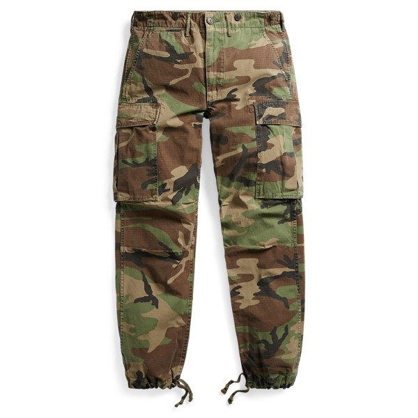 Camo Cotton Cargo Pant - Cargo Pants & Chinos - RalphLauren.com