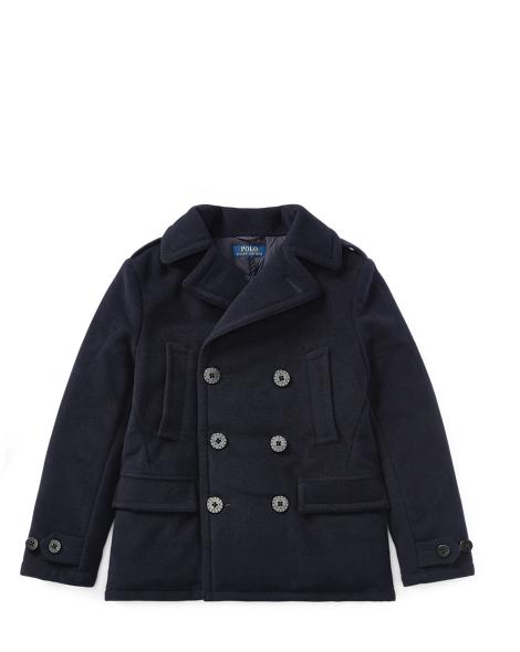 Wool-Blend Down Peacoat - Jackets & Coats Boys' 2-7 - RalphLauren.com