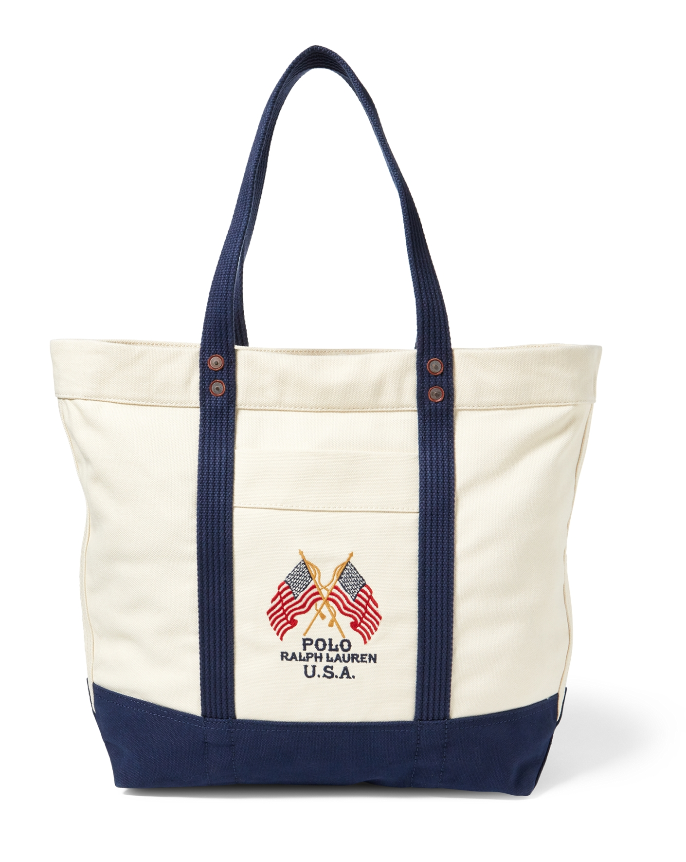 Flag Canvas Tote - Totes Bags & Leather Goods - RalphLauren.com
