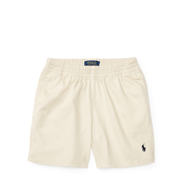 Cotton Pull-On Chino Short - Shorts Boys' 2-7 - RalphLauren.com
