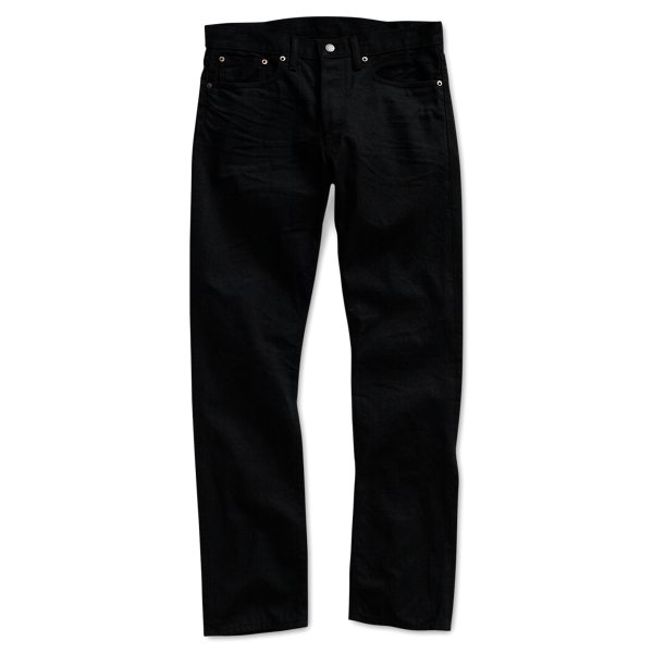 Slim Fit Black-Wash Denim - Slim Jeans - RalphLauren.com