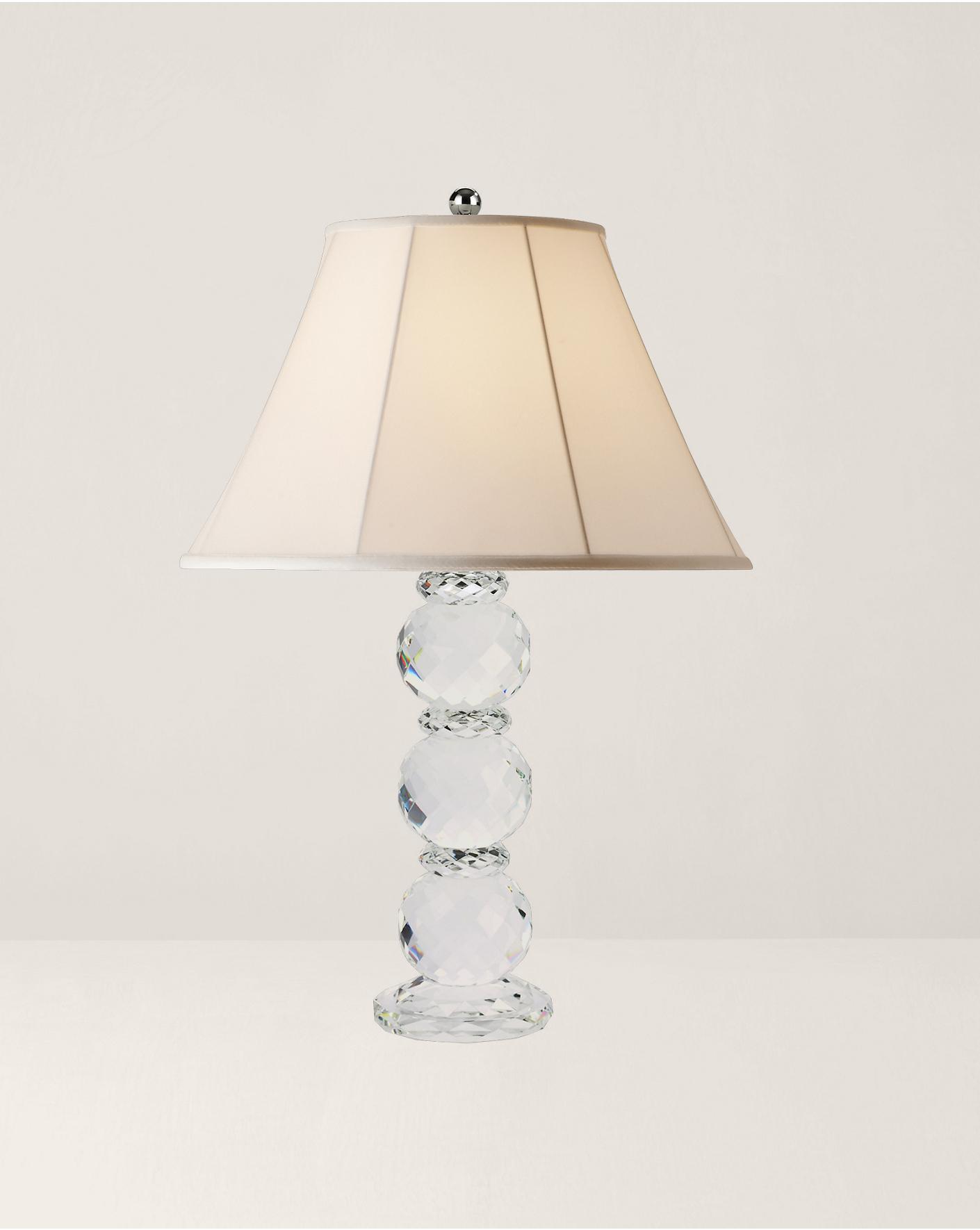 contemporary table desk  accent lamps  ralph lauren - faceted crystal lamp  ralph lauren home table lamps  ralphlaurencom