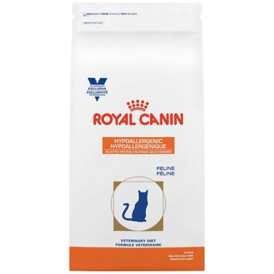 Feline Hypoallergenic Selected Protein canned cat food Royal