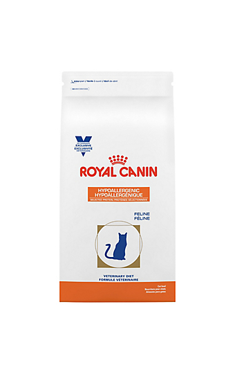 Feline hypoallergenic selected protein canned cat food - Royal canin fibre response chat ...