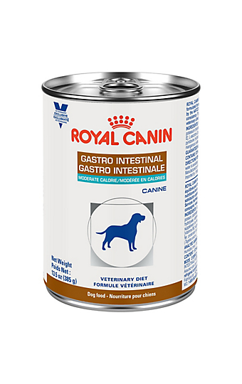 Canine Gastrointestinal Moderate Calorie Dry Dog Food Royal