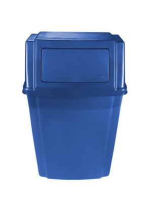 1829401 SLIM JIM WALL MOUNTED CONTAINER BLUE