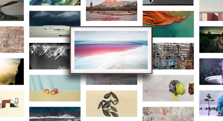 Choose from one hundred works of art.