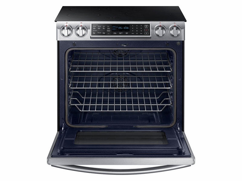 5.8 cu. ft. Slide-In Induction Range with Virtual Flame™