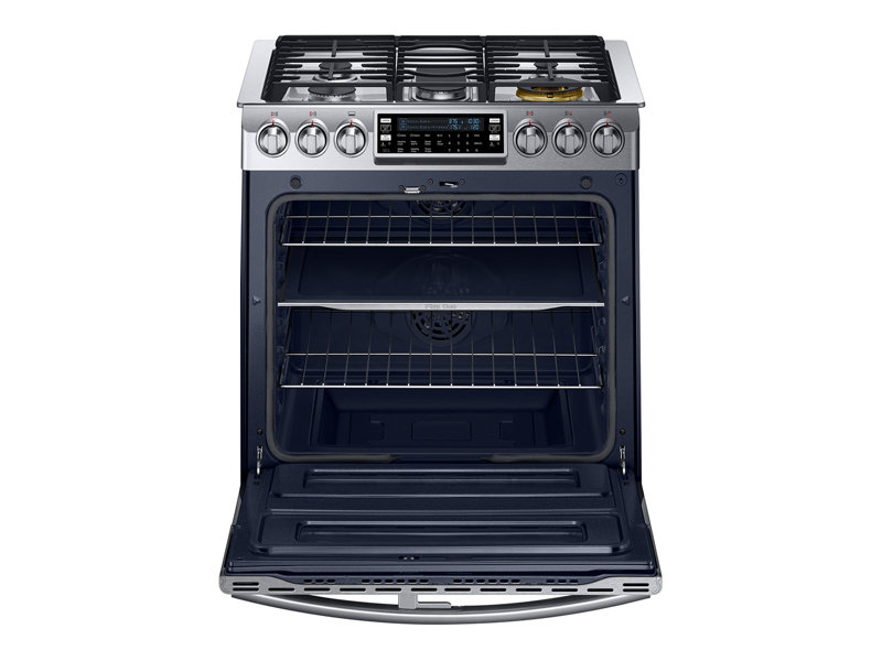 5.8 cu. ft. Slide-in Dual Fuel Range with Flex Duo™ and Dual Door