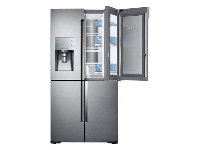 22 cu. ft. Counter Depth 4-Door Flex™ Food Showcase Refrigerator with FlexZone™
