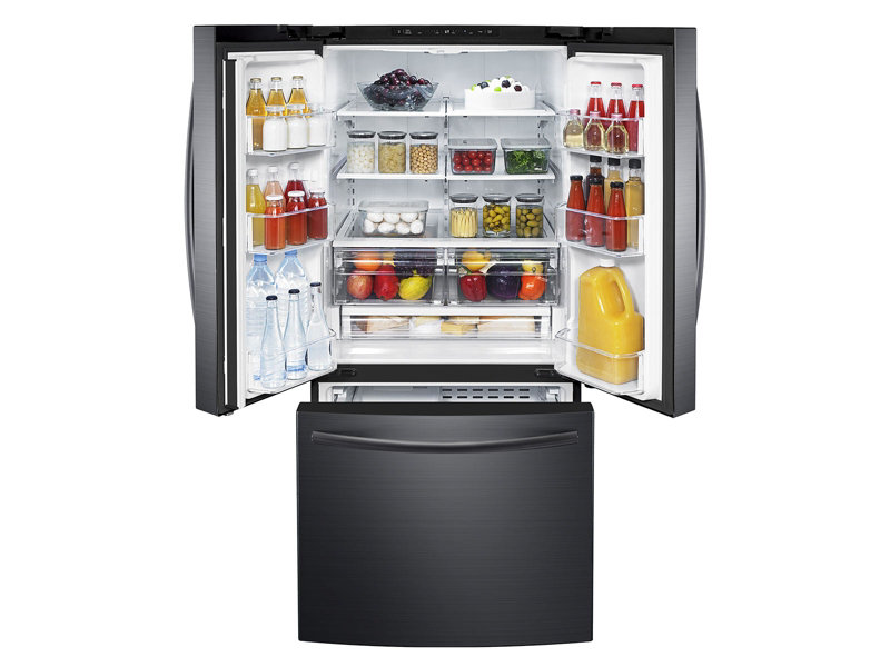 Samsung Rf220nctasg 22 Cu Ft French Door Refrigerator