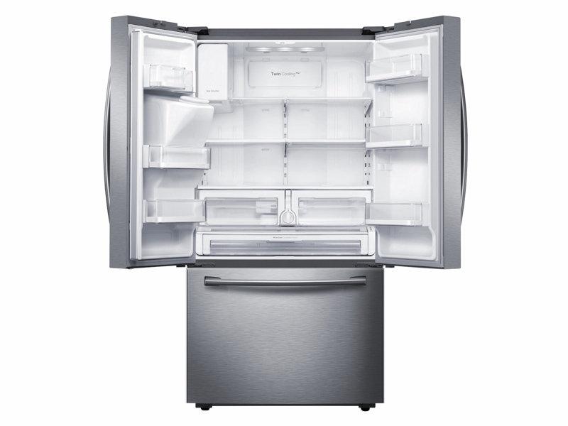 Samsung Rf28hfedbsr 28 Cu Ft French Door Refrigerator With