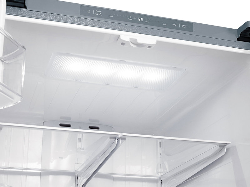 Samsung Rf220nctasr 22 Cu Ft French Door Refrigerator