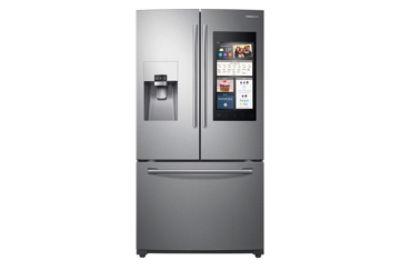 24 Cu Ft Capacity 3 Door French Door Refrigerator With