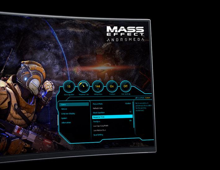 Game-style OSD dashboard