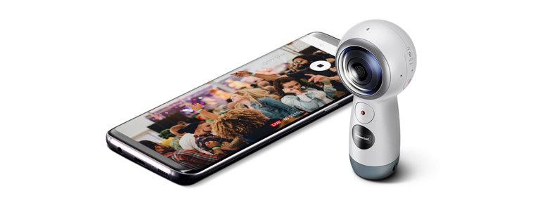 Virtual Reality Camera Gear 360 - SM-R210NZWAXAR | Samsung US