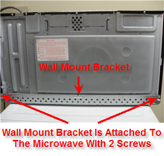 The Bracket To Take It Off Of Microwave If Has Been Replaced Or A New One Is Required For Any Reason Another Can Be Purchased From