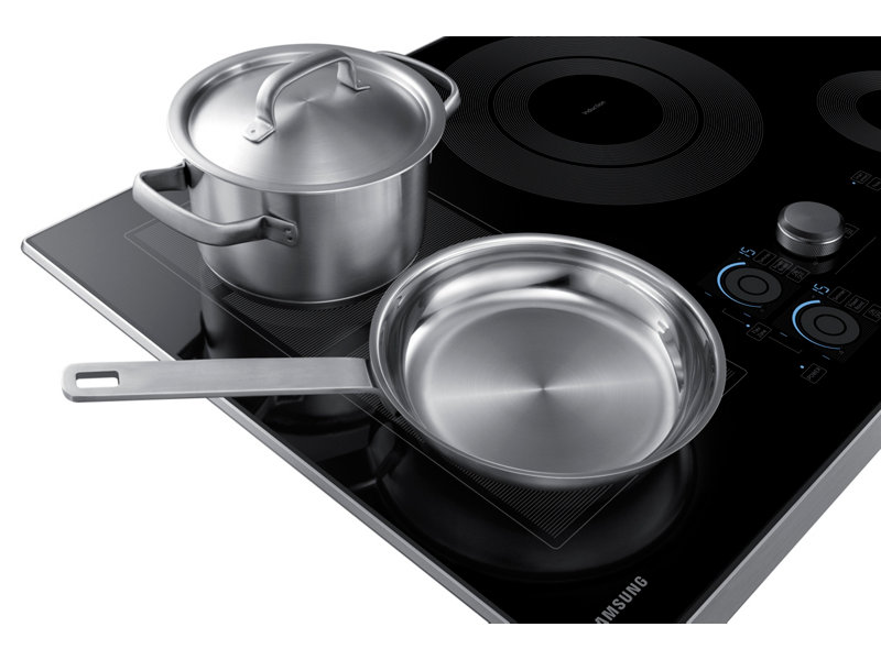 cooktop's model number typically located along the