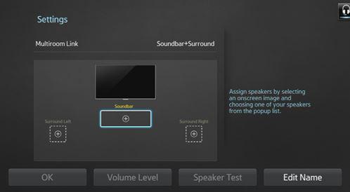 how to change settings on samsung soundbar